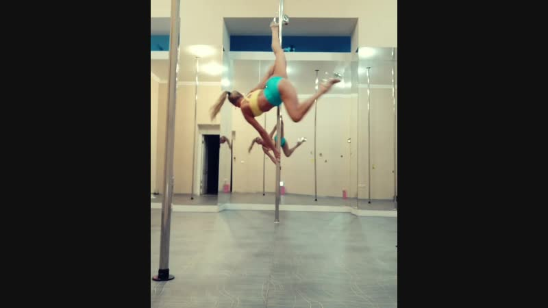 Exotic pole dance, Yana Bolshakova :)