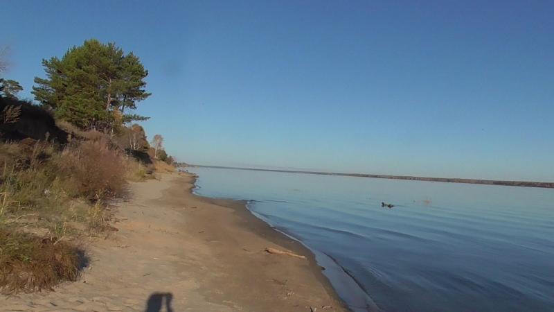 Осенний отдых на Обском.