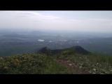 Вершина горы Бештау (1400м над уровнем моря)