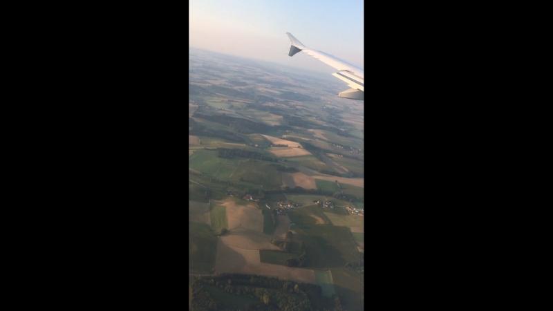 Прилетели в Мюнхен