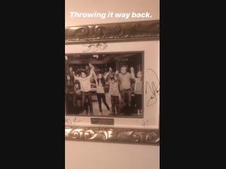 2019  Публикация Девида Генри в истории его Instagram.