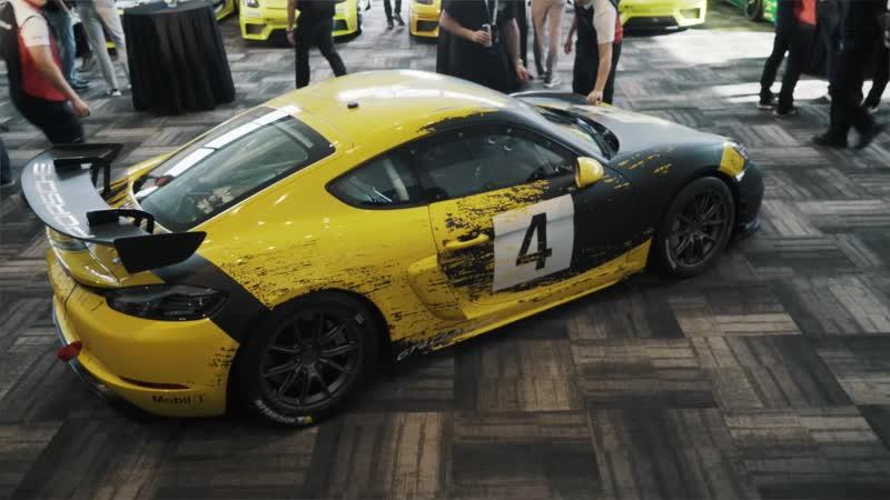 Setting a New Standard with the New Porsche 718 Cayman GT4 Clubsport