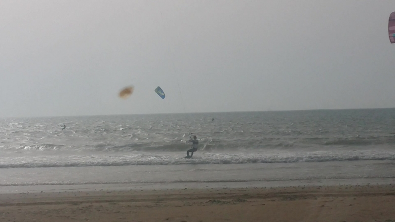 KiteBoarding --Diabat Beach Essaouira Maroc Summer 2018.mp4
