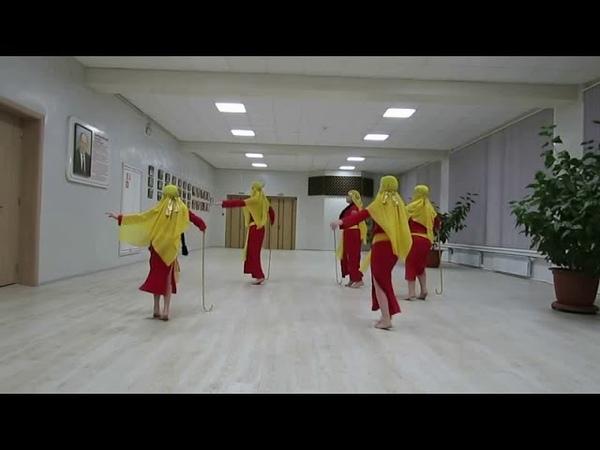 8000329. Кол в Лазурит, хореография, САИДИ