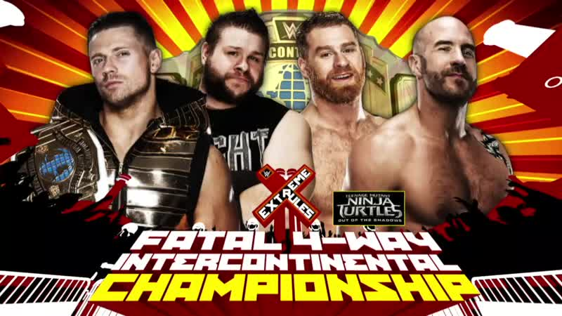 The Miz vs Ceasro vs Kevin Owens vs Sami Zayn (Extreme Rules) (2016)