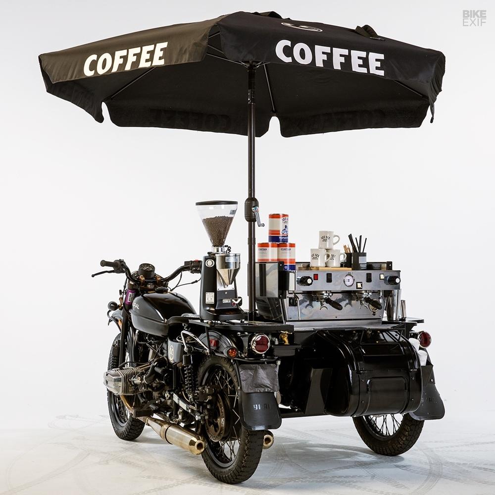 See See Motorcycles: Ural cT - кофейня на колесах