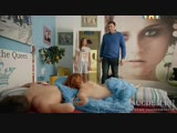 Голая Ксения Суркова в постели