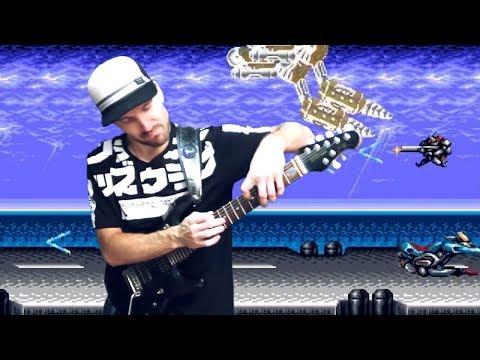 Contra Hard Corps - GTR Attack (OST metal cover) progmuz