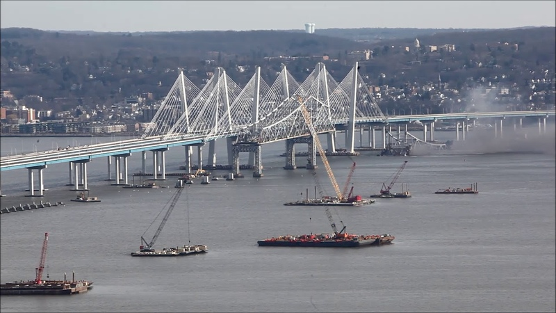 Old Tappan Zee Bridge Demolition