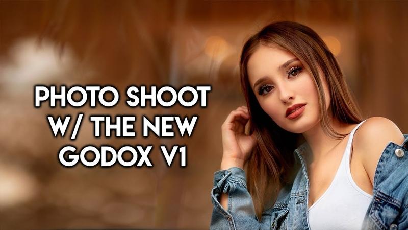 GODOX V1 (Flashpoint Zoom Li-On X) Photo Shoot First Impressions!