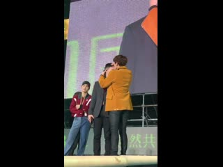 [LQ FANCAM] 190316 Nature Republic `Green Nature` Fan Festival @ EXO's Baekhyun and D.O.