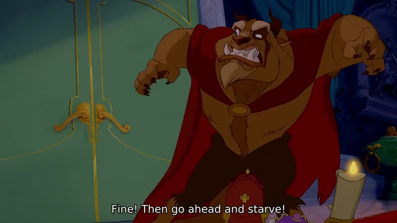 Fine! Then go ahead and starve!