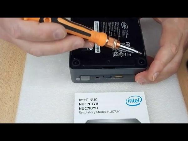 Intel NUC BOXNUC7CJYH внутри