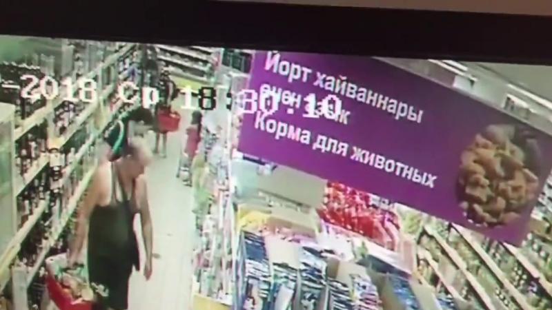 Скинула бомбу прямо в магазине
