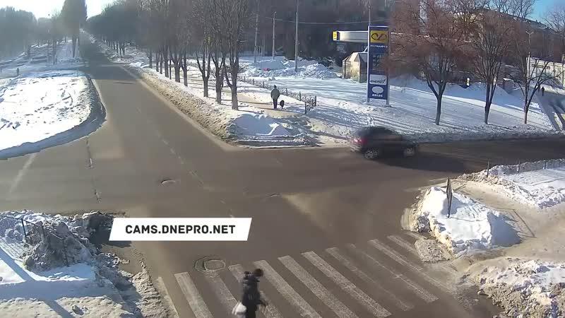 ДТП на Аношкина _ Свободы - 17.01.19