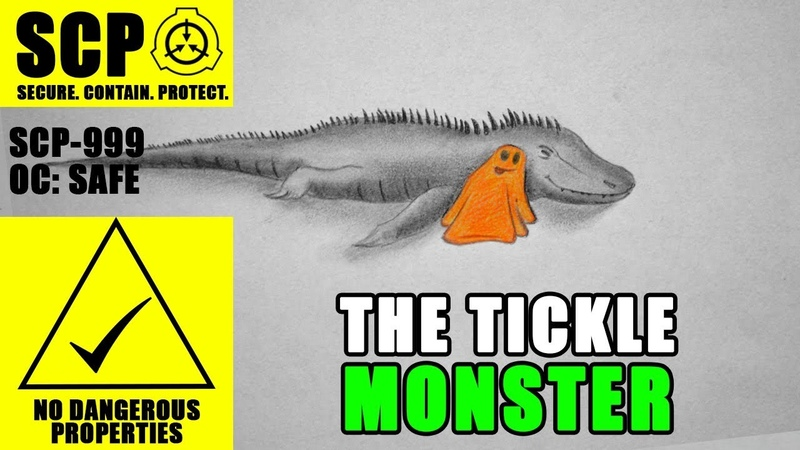 SCP-999 illustrated (The Tickle Monster)