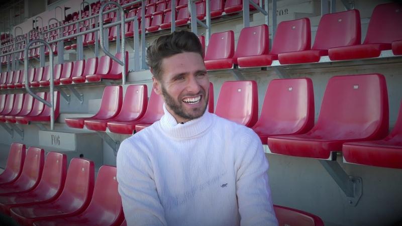 El test a Sergi Gómez Todo menos fútbol en el vestuario del Sevilla