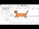 Рисуем Животных Умный Тигр специально для Кати Корень