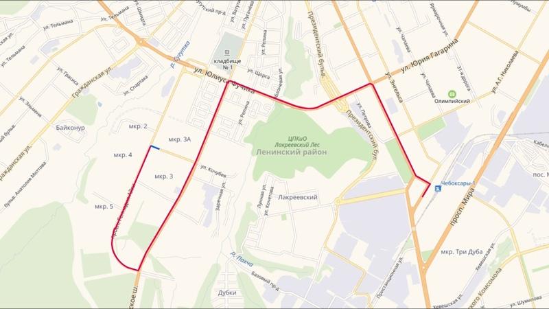 Стал известен точный маршрут троллейбуса № 10 с автономным ходом