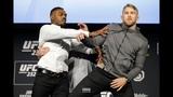 Jon Jones Shoves Alexander Gustafsson at UFC 232 Staredown - MMA Fighting
