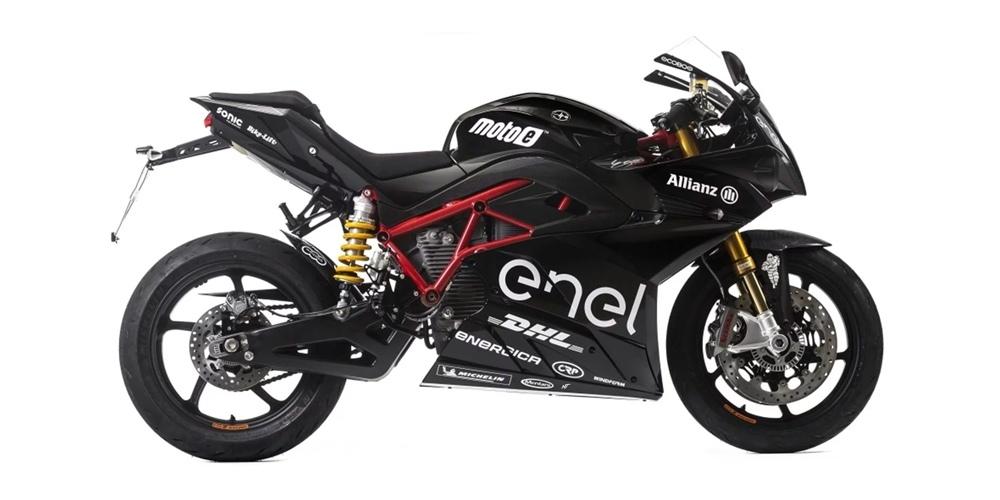 Электросупербайк Energica Ego Sport Black