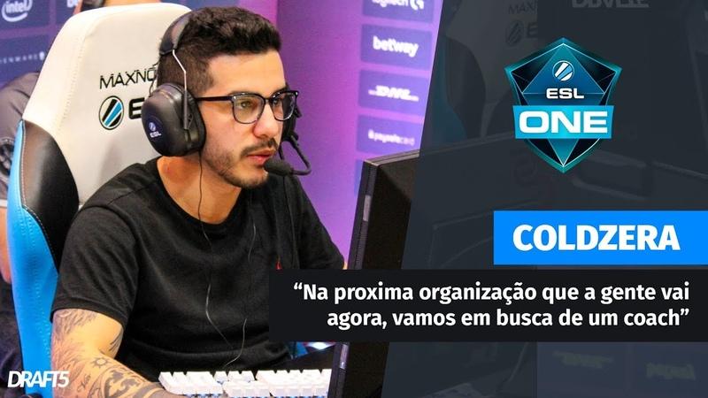 Coldzera: Pra próxima organização que a gente vai, vamos buscar um coach [ESL Belo Horizonte]