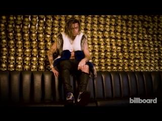 Видеоролик с фотосессии мистера Пампа для Billboard