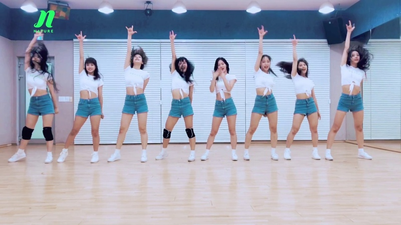 Dance Practice | NATURE (네이처) - Allegro Cantabile (안무 영상)