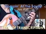 Stompin' At The Savoy Jim Hall Transcription (WITH TAB)
