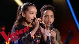 Katy Perry - Chain to the rhythm Camila et Zion Luna The Voice Kids France 2018 Blind...