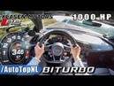 1000HP AUDI R8 V10 PLUS BiTURBO | Klasen Motors 346km/h AUTOBAHN POV by AutoTopNL