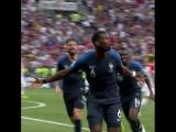 3 гол французов в ворота сборной Хорватии