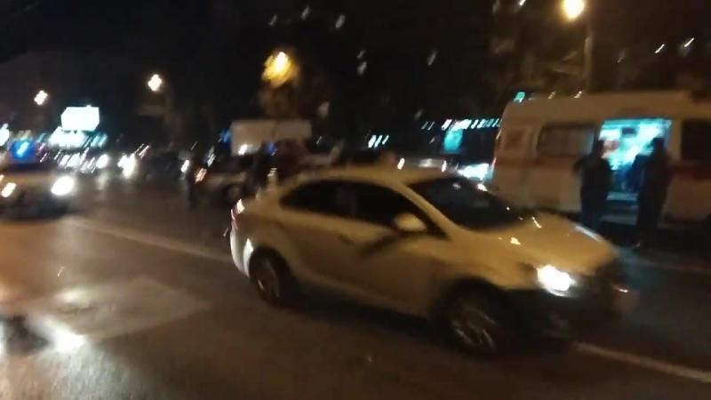 На Ленинградском шоссе сбили пешехода