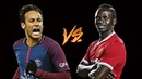 Neymar JR vs Sadio Mane ● Skills Battle   Who's the most skillful ? 2018  HD
