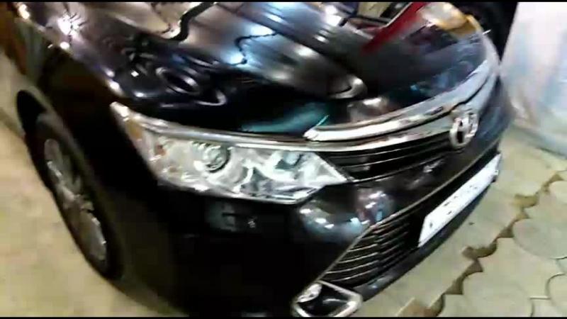 BunkeR_nZ Camry бронирование кузова и пластиковых порогов Тонировка пары передних авто Кента