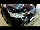 BunkeR nZ Camry бронирование кузова и пластиковых порогов Тонировка пары передних авто Кента