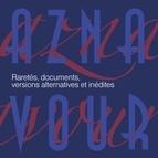 Charles Aznavour альбом Raretés, documents, versions alternatives et inédites