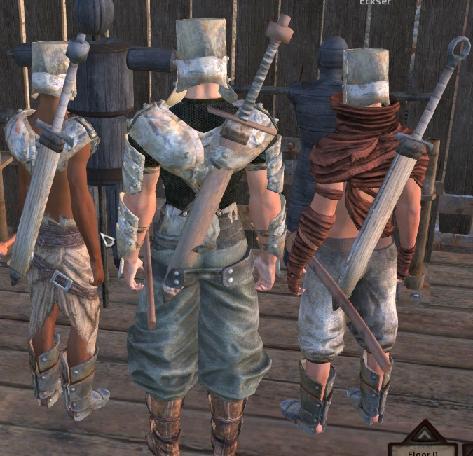 Broadswords / Широкие мечи!