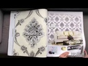 A49 14 Home Decoration Modern Style Glamorous Design PVC Project Wallpaper