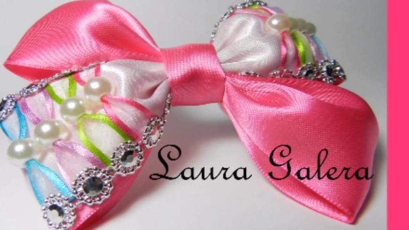 Moño en colores para niña Colored bow for girl Arco colorido para menina