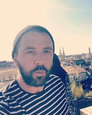 """Darren McMullen on Instagram """"When you get dizzy filming your selfie and almost fall off your balcony. Bonjour Bordeaux. What a view."""""""