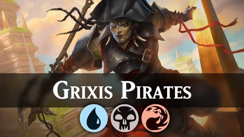 Grixis Pirates Guilds of Ravnica Standard Deck Guide MTG ARENA