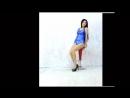 美少女スイマー 旧型スクール水着 Asian Beauty huge breasts school swimsuit Monroe walk
