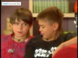 детсад-рок-группа Климбатика - интервью каналу НТВ