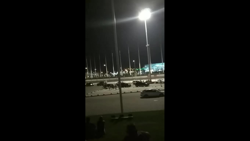 Салют в Олемпийском парке