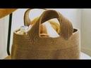 4 Топовые сумки крючком со схемами на лето🍃🍃🍃