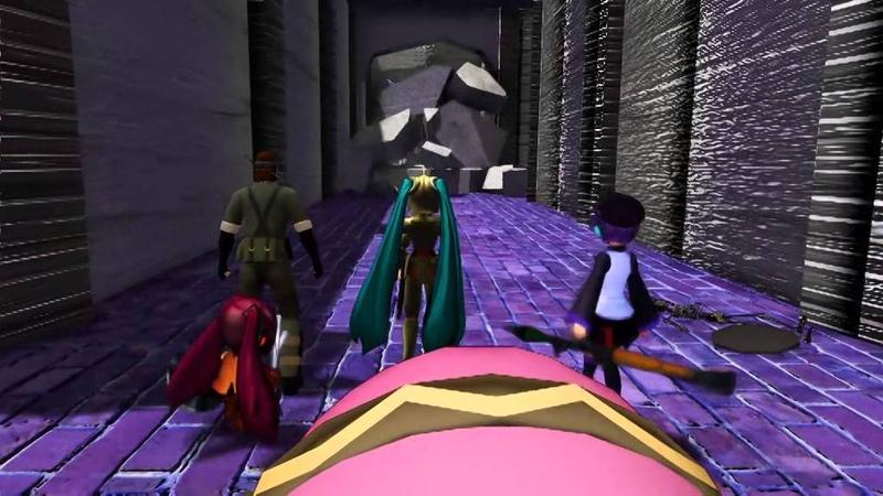 【第12回MMD杯本選】Miku Hatsune in The Tower of Druaga【VOCALOID】