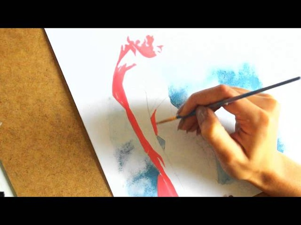 Painting People · Speedpainting in Comic Book Style · SemiSkimmedMin