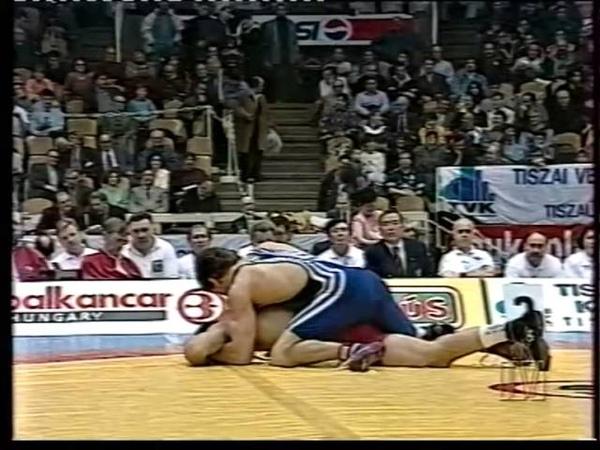 Saitiev Buvaisar (RUS) - Kertanti R.(SLA) 1996 год.Чемпионат Европы.Будапешт