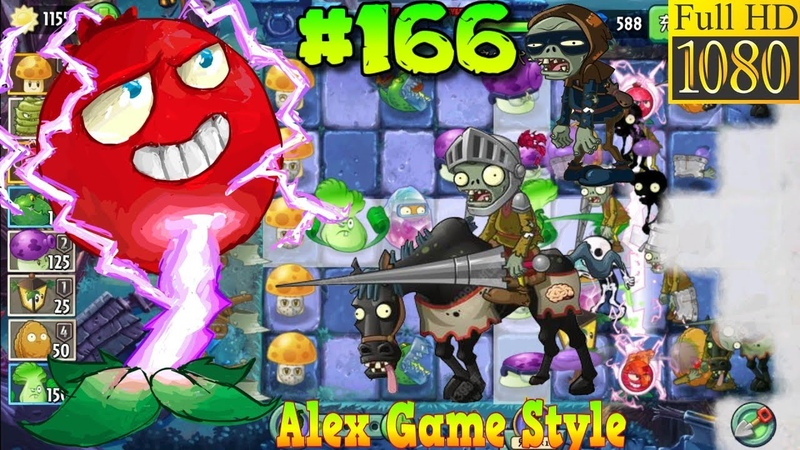 Plants vs Zombies 2 China Unlocked Electric Currant Dark Ages Night 22 Ep 166